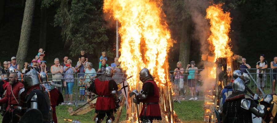 Turniej rycerski został zorganizowany przez Działdowskie Bractwo Rycerskie