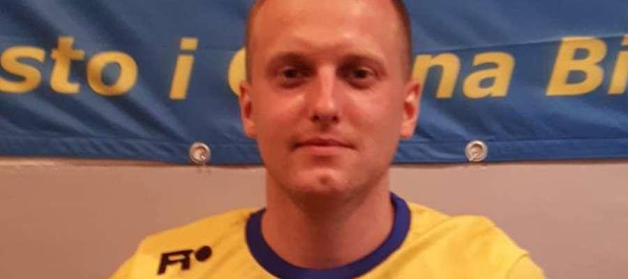 Paweł Twarogowski wrócił do gry w Bieżuniu