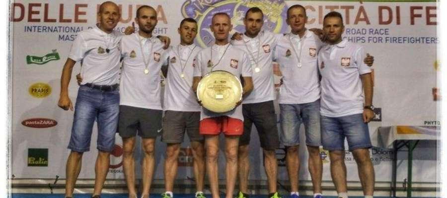 Damian Pieterczyk Mistrzem Europy strażaków w biegu na 10 km