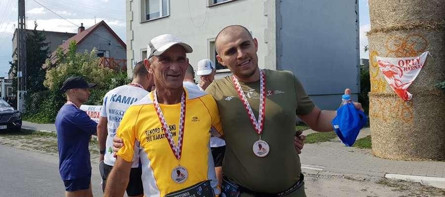 Paweł Kubalski i Ryszard Kałaczyński
