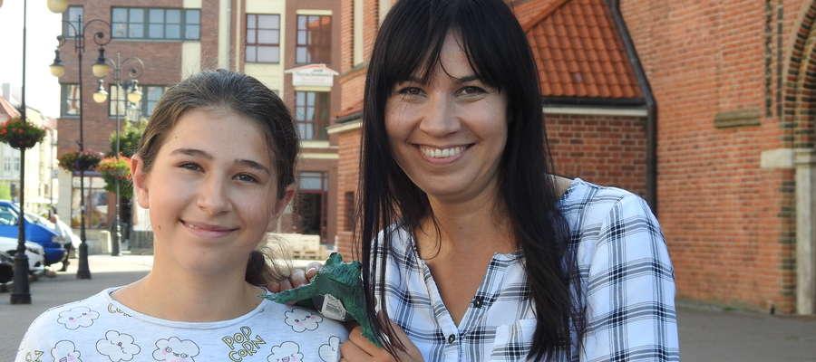 Ula Łopacka z mamą Joanną