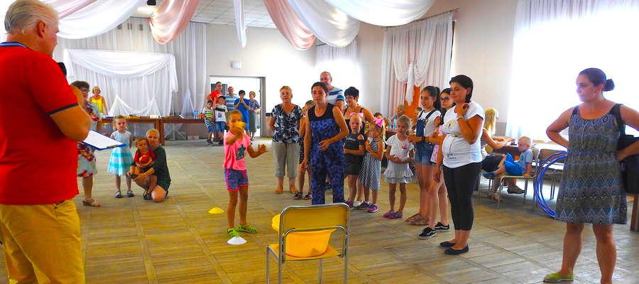 Podczas rodzinnych potyczek w Mszanowie