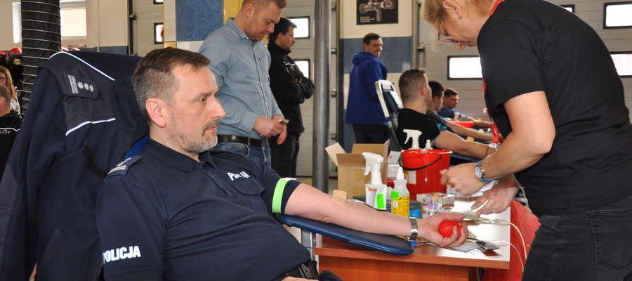 Będzie to już szósty w 2018 roku pobór krwi w nowomiejskiej straży
