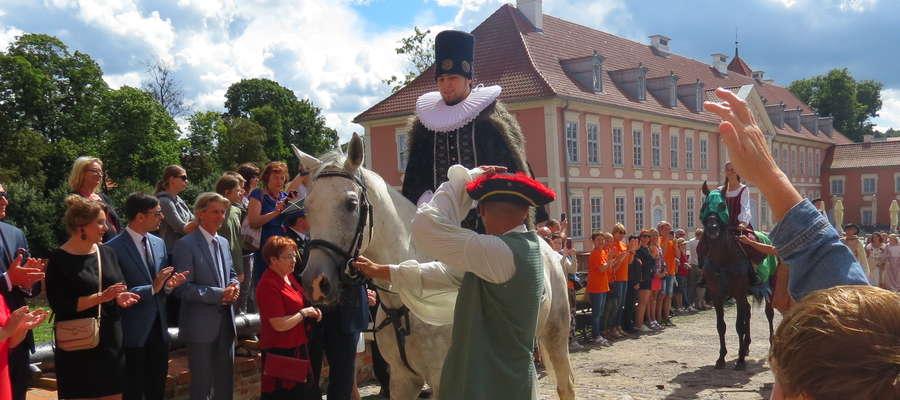 Król Zygmunt III Waza wjechał do lidzbarskiego zamku.