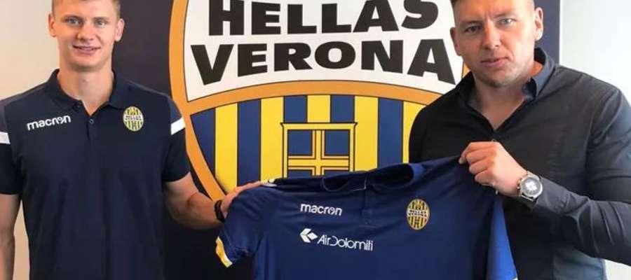 Paweł Dawidowicz z klubem z Werony podpisał kontrakt do 30 czerwca 2022 roku