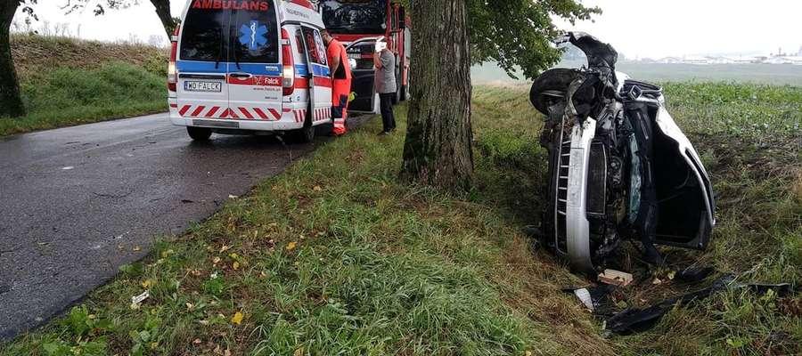 Jedna osoba ucierpiała w wypadku