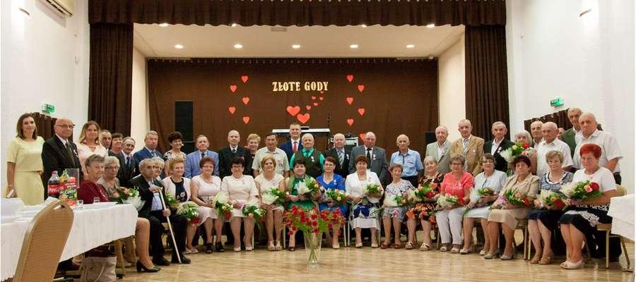 Pary z terenu gminy Iłowo, które przeżyły ze sobą 50 lat