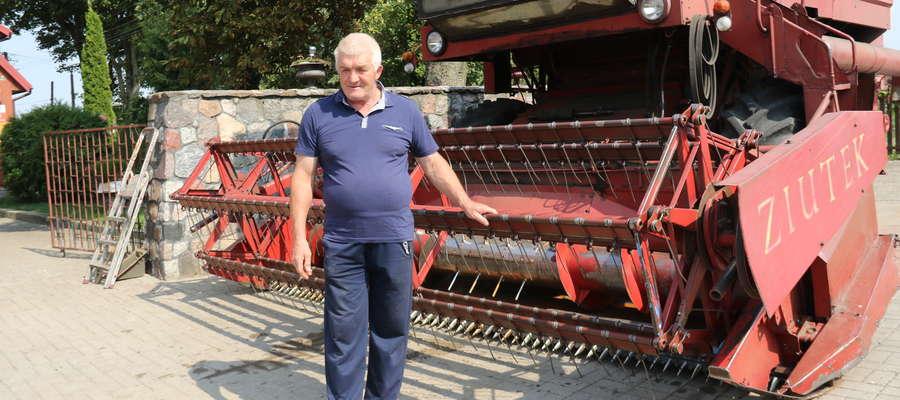 Marian Rucki, sołtys Gajewa w gminie Giżycko – W ubiegłym roku zebrałem 650 ton ziarna, w tym 530, a u mnie jeszcze nie jest najgorzej.