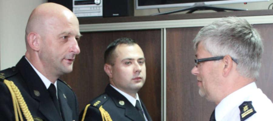 Leszek Góralski w chwili otrzymania nominacji