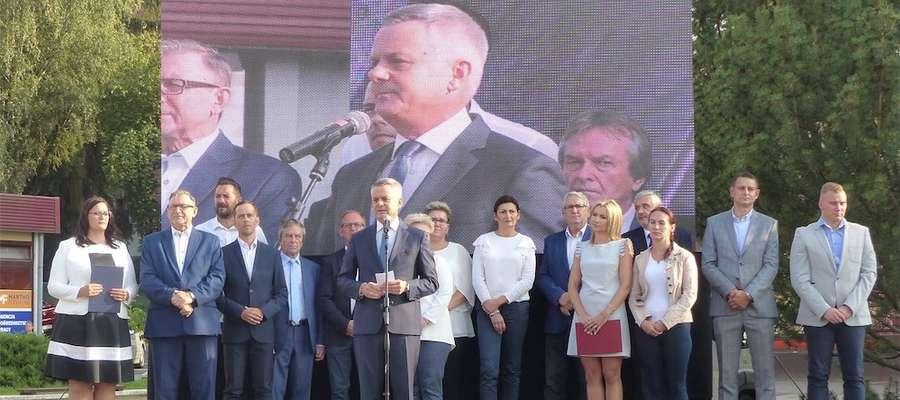 W poniedziałek 27 sierpnia rozpoczęła się w Iławie kampania wyborcza. Rozpoczął ją Piotr Żuchowski, kandydat na burmistrza miasta