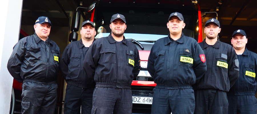 Szybka i sprawna akcja strażaków z OSP Lidzbark pozwoliła uratować życie człowiekowi