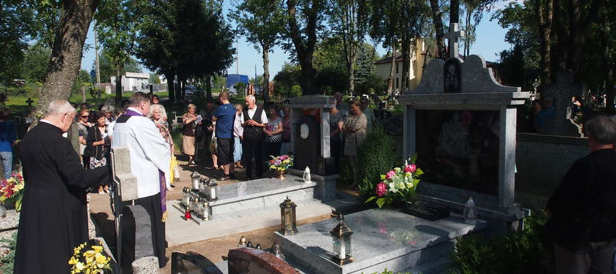 Poświęcenie pomników - 8 sierpnia 2016