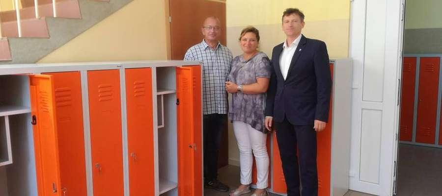 Nowe szafki w szkołach podstawowych Lidzbarka Warmińskiego