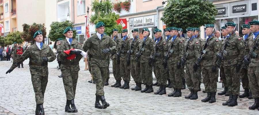 Święto Wojska Polskiego w Garnizonie Lidzbark Warmiński
