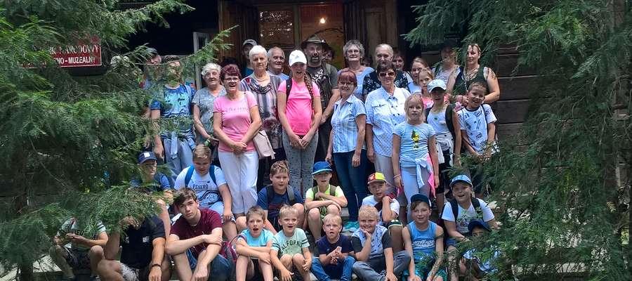 Uczestnicy wyprawy do Parku Kampinoskiego