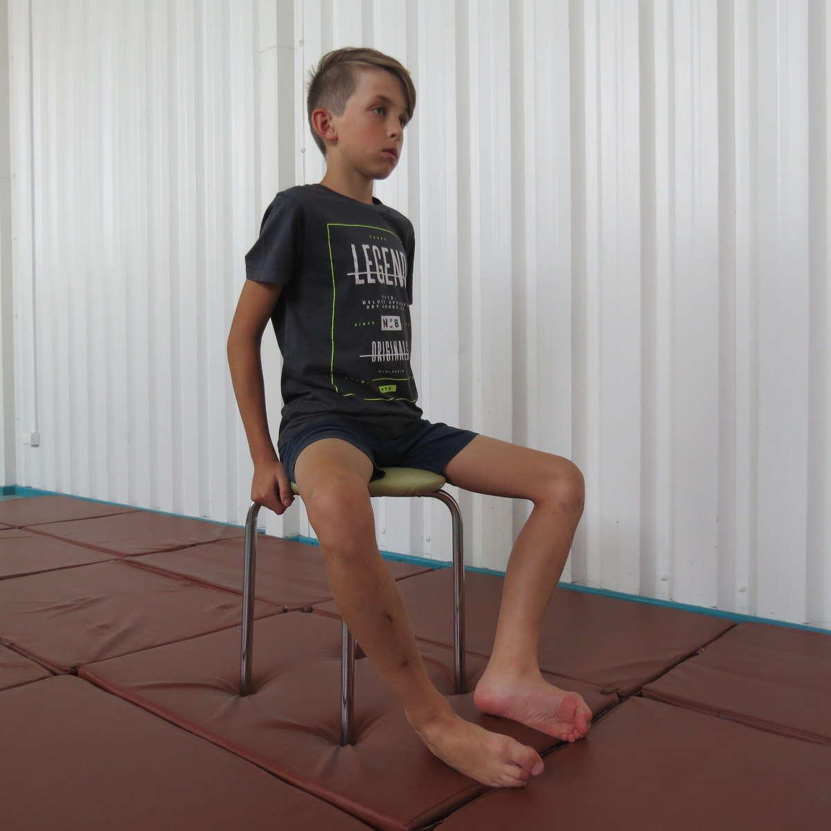 Ćwiczenie 9. na płaskostopie