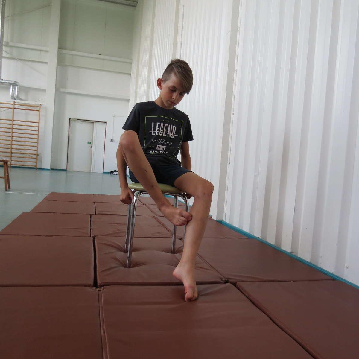 Ćwiczenie 10. na płaskostopie