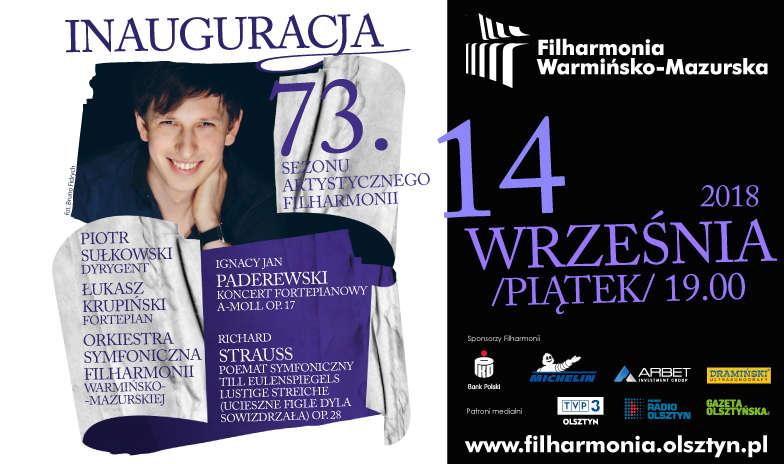 Koncert inaugurujący 73. sezon artystyczny Filharmonii Warmińsko-Mazurskiej - full image