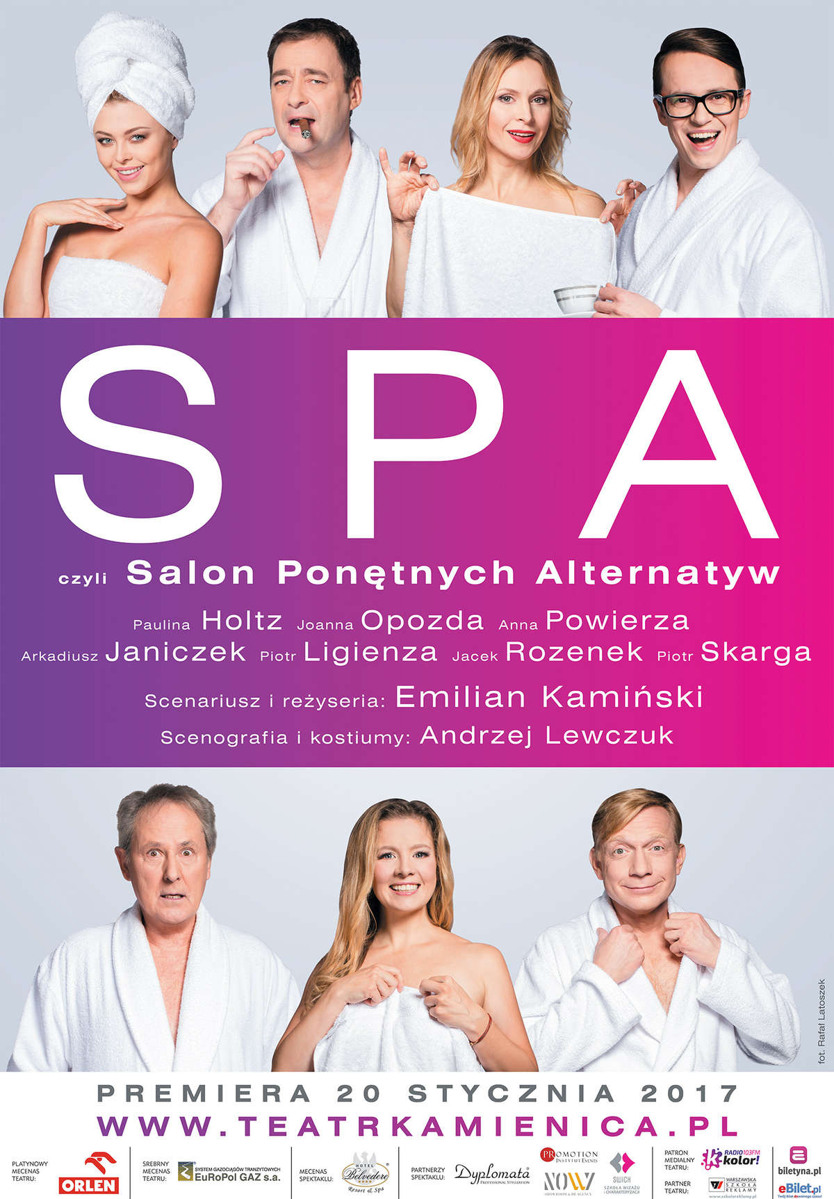 Plakat SPA - full image