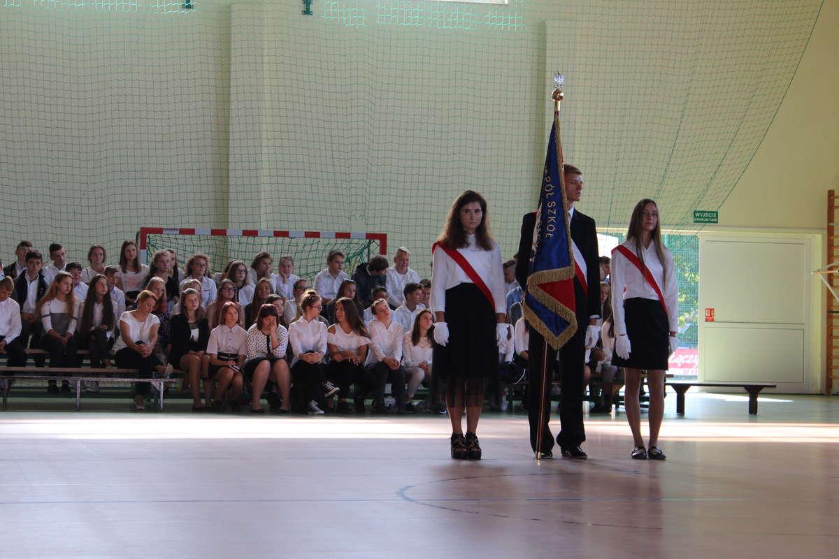 Rozpoczęcie roku szkolnego w Wydminach