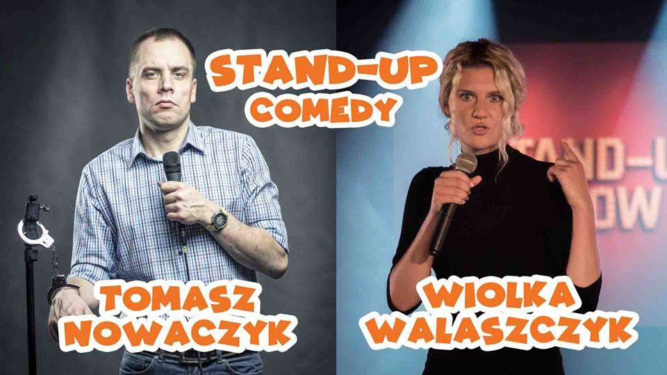 Damsko-męski stand-up na reszelskiej scenie - full image