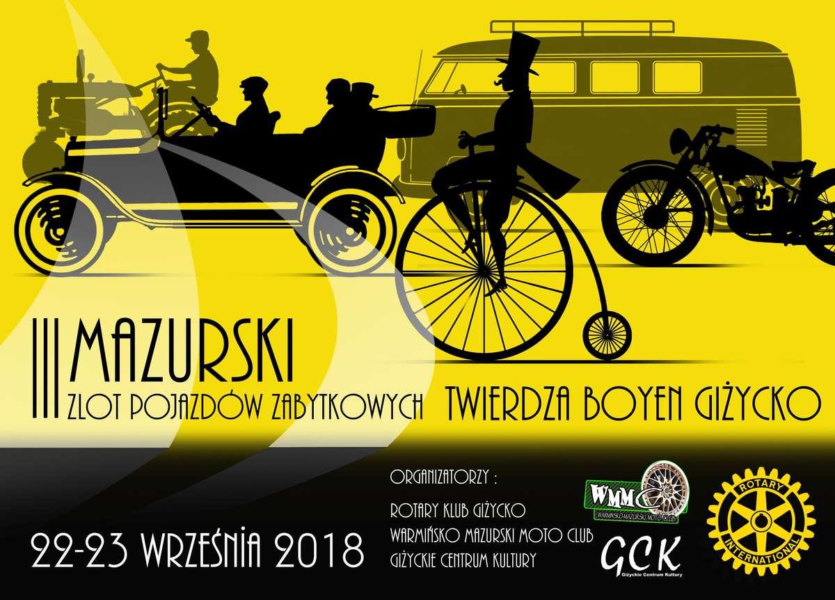 Warto dodać, że inicjatorem imprezy i autorem plakatu jest Tadeusz Jelec, giżycczanin, projektant w Jaguarze.  - full image