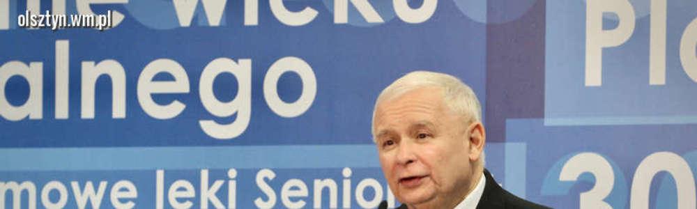 Jarosław Kaczyński: tylko my możemy zmieniać Polskę i zapewnić Polakom lepszy los