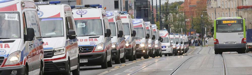 Parada karetek z całego kraju zakończyła Mistrzostwa Polski w Ratownictwie Medycznym [ZDJĘCIA]