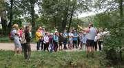 Graniczna wyprawa na rozpoczęcie roku szkolnego uczniów ze SP w Tuszewie
