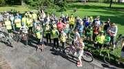 70 rowerzystów na trasie