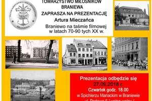 """""""Braniewo na taśmie filmowej w latach 70-90 tych XX wieku"""""""