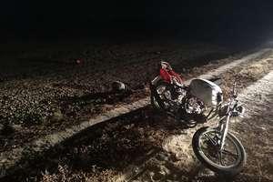 Wypadek motocyklowy na drodze Galiny-Kosy. Dwie osoby poszkodowane
