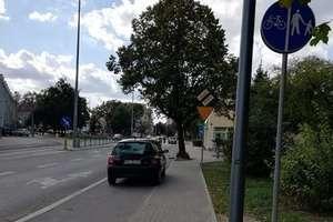 """Po co komu ścieżka rowerowa? Kolejna część z cyklu """"Parkowanie bez wyobraźni"""""""