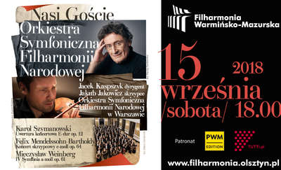 Orkiestra Symfoniczna Filharmonii Narodowej wystąpi w Olsztynie