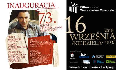 Uroczysta Inauguracja 73. sezonu artystycznego Filharmonii Warmińsko-Mazurskiej