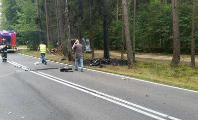 Wypadek na DK 58. Droga jest zablokowana