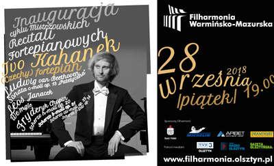 Mistrzowskie Recitale Fortepianowe w 73. Sezonie artystycznym Filharmonii