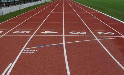 Zawody lekkoatletyczne na otwarcie stadionu