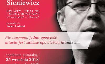 Literackie Topografie Olsztyna – spotkanie autorskie z Mariuszem Sieniewiczem