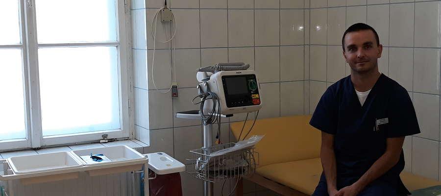 Bartłomiej Szczepański, Szpital Uniwersytecki