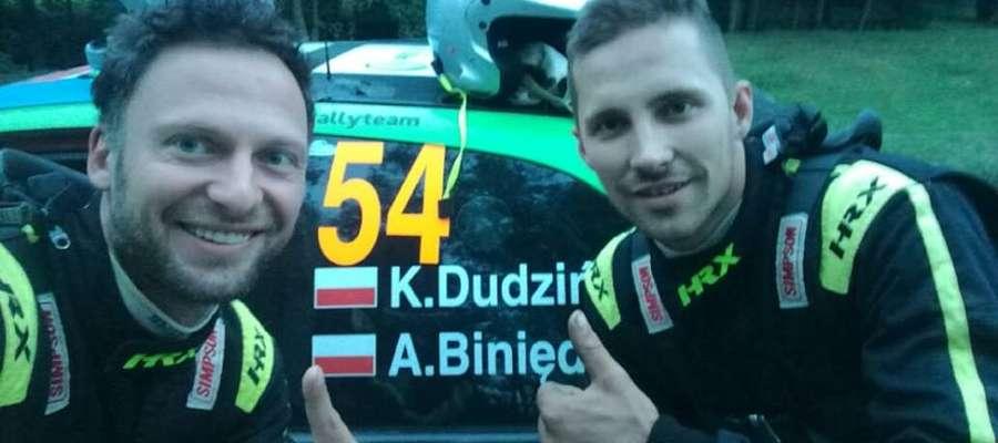 Konrad Dudziński (z prawej) i Adam Binięda