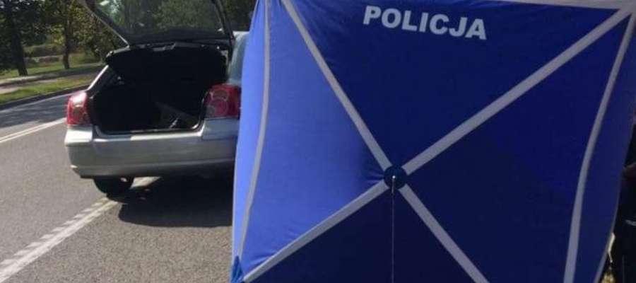 W bagażniku tego samochodu znaleziono ciało 56-latki