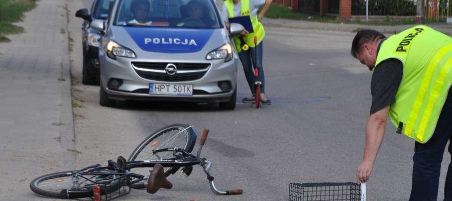 Kobieta trafiła do szpitala w Olsztynie