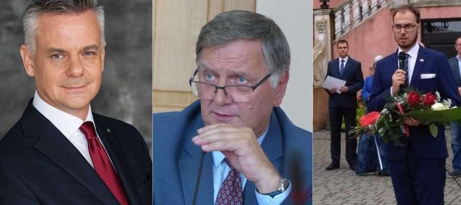 Jeden z tych panów zostanie burmistrzem Iławy. Który? To zależy tylko od mieszkańców