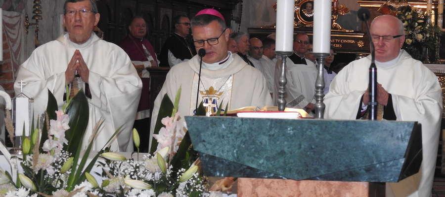 Podczas mszy odpustowej w nowomiejskim kościele