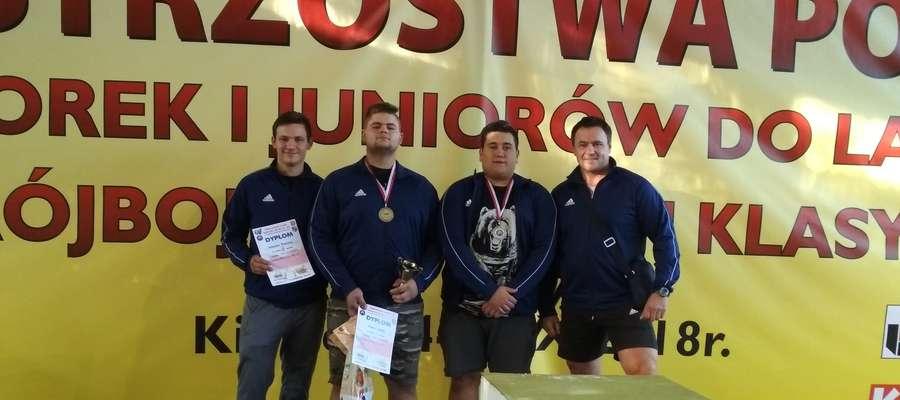 Trener i zawodnicy wrócili zadowoleni z Kielc