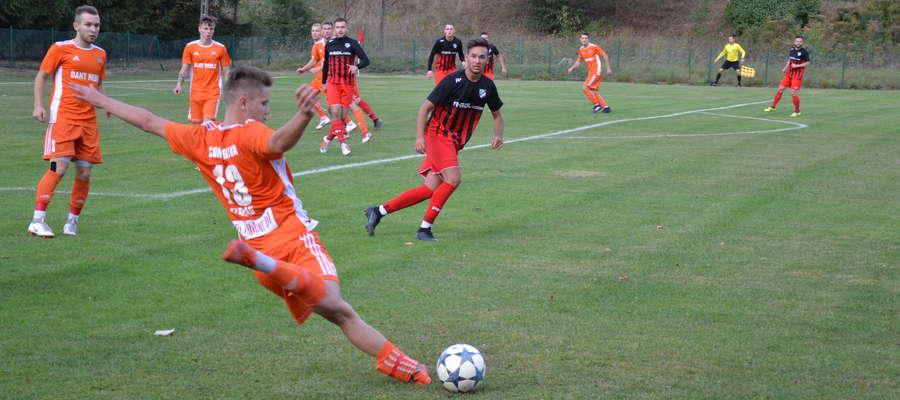 W Miłomłynie Tęcza przegrała 0:4 z Concordią Elbląg