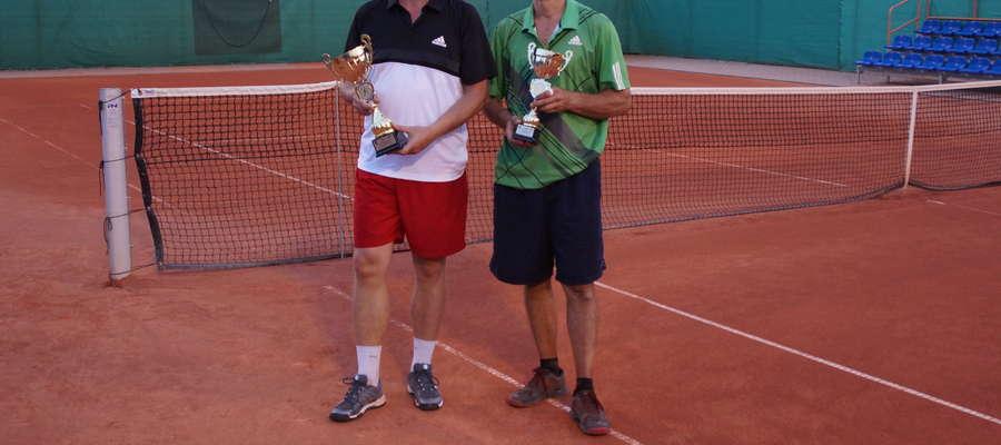 Finaliści lidzbarskiego turnieju: Adam Brodowski (z lewej) i Jan Łastowski