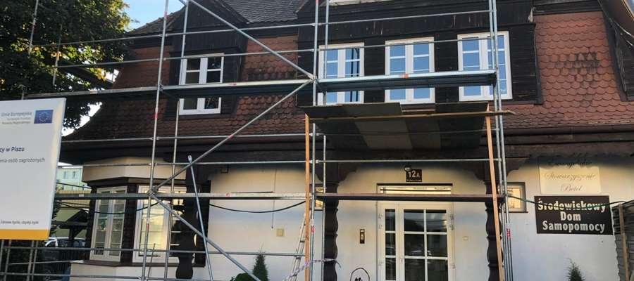 Rozpoczął się drugi etap remontu Środowiskowego Domu Samopomocy w Piszu