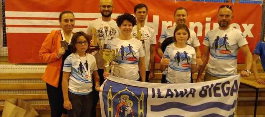 Ekipa Iława Biega w klasyfikacji drużynowej została wyprzedzona przez tylko dwie drużyny